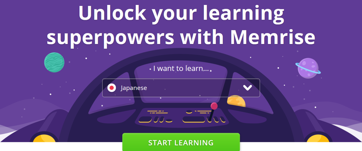Memrise For Spaced Repetition