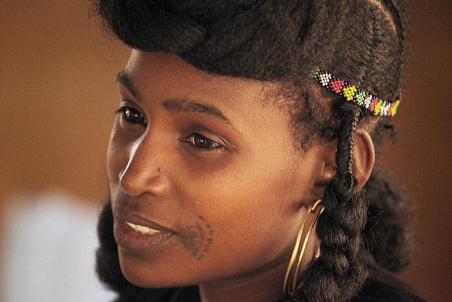 Fulani Woman With Tribal Tattoo