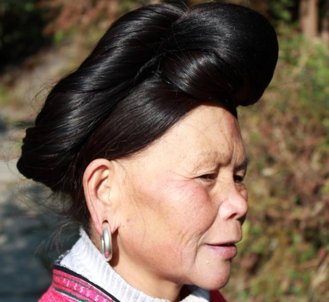 Yao Woman Elder Guangxi