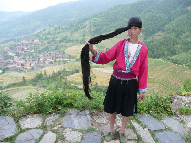 Yao Woman Of China Braid