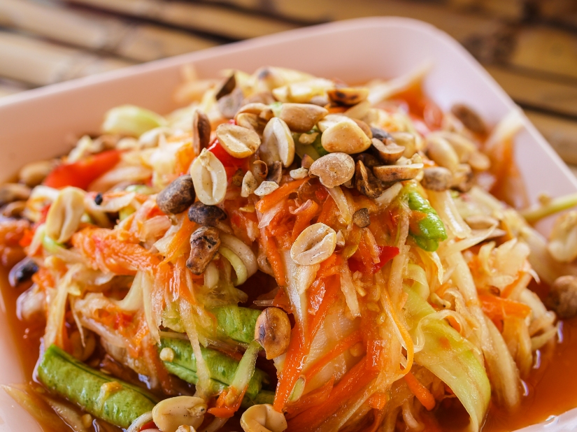 How to Learn Thai: The Papaya Salad Method